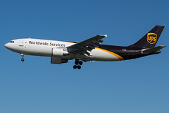 UPS / A306F / N126UP / KLAX 25L (_Wouter Cooremans) Tags: lax losangeles losangelesinternationalairport spotting spotter avgeek aviation ups a306f n126up klax 25l a300 a300f a306
