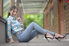 張雅淳 (玩家) Tags: 2020 台灣 台北 花博公園 人像 外拍 正妹 模特兒 張雅淳 戶外 定焦 無後製 無修圖 taiwan taipei portrait glamour model girl female bella outdoor d610 85mm prime