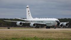 64-14847/OF BOEING RC-135U 45RS USAF (MANX NORTON) Tags: raf mildenhall usaf hercules c130 ac130 mc130j commando ii pilatus u28pc12 kc10 boeing kc135 rc135 e8 jstars e3 sentry e4b c5 galaxy c17 globemaster100th arw