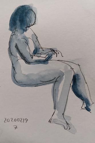 Life drawing 7 (2020/02/19)