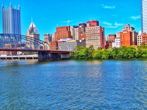 Pittsburgh - Pennsylvania  - United States - Monongahela River  -  Pittsburgh Skyline