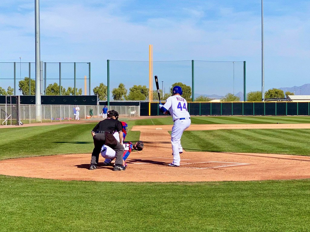 Cubs Photos: Baseball, 2020, chicago, cubs, springtraining, Anthony  Rizzo