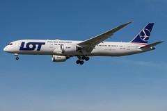 LOT / B789 / SP-LSG / KLAX 25L (_Wouter Cooremans) Tags: lax losangeles losangelesinternationalairport spotting spotter avgeek aviation lot b789 splsg klax 25l