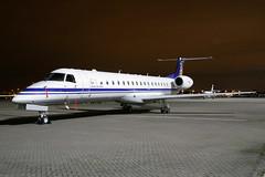 ERJ145, Belgian AF (nickchalloner) Tags: ce03 embraer erj145 erj 145 belgian air force belgium royal raf northolt egwu nht nightshoot xiv night shoot