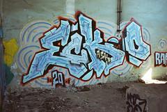(Bucuresci Cartel) Tags: bucharest romania eastern europe street art culture graffiti lifestyle konica big mini aps bms100 kodak ultra advantix 200 expired 2004 grain decay love colors urban hyeroglyphics