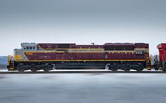 Pacing CP 7016 West, Blackbird, Minnesota (jterry618) Tags: heritageunit cp7016 riversubdivision train engine railroadcar minnesota railway diesellocomotive heritage cp railroad scenic