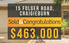15 Folger Road, Craigieburn VIC