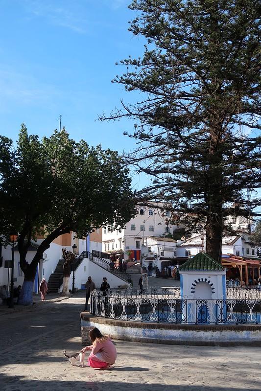 Chefchaouen, Morocco's Blue City.