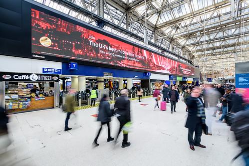Vodafone - Waterloo Station