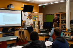 Visit to Centennial High School and Youth Climate Change Challenge Announcement, February 19, 2020.