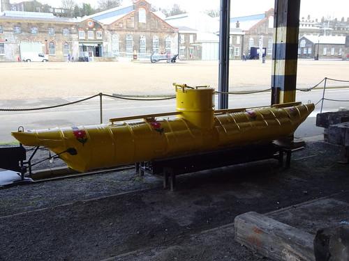Biber midget submarine?