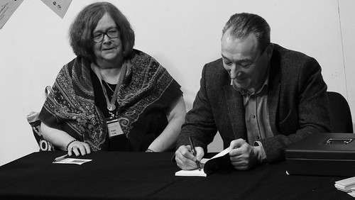 Paisley Book Festival - Maggie Craig and Jim Carruth 02