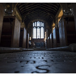 Mouse-eye view of St. Michael's Church Cowthorpe