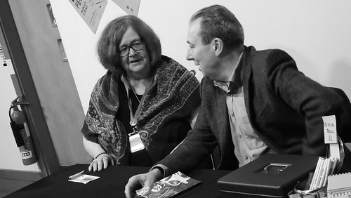 Paisley Book Festival - Maggie Craig and Jim Carruth 01