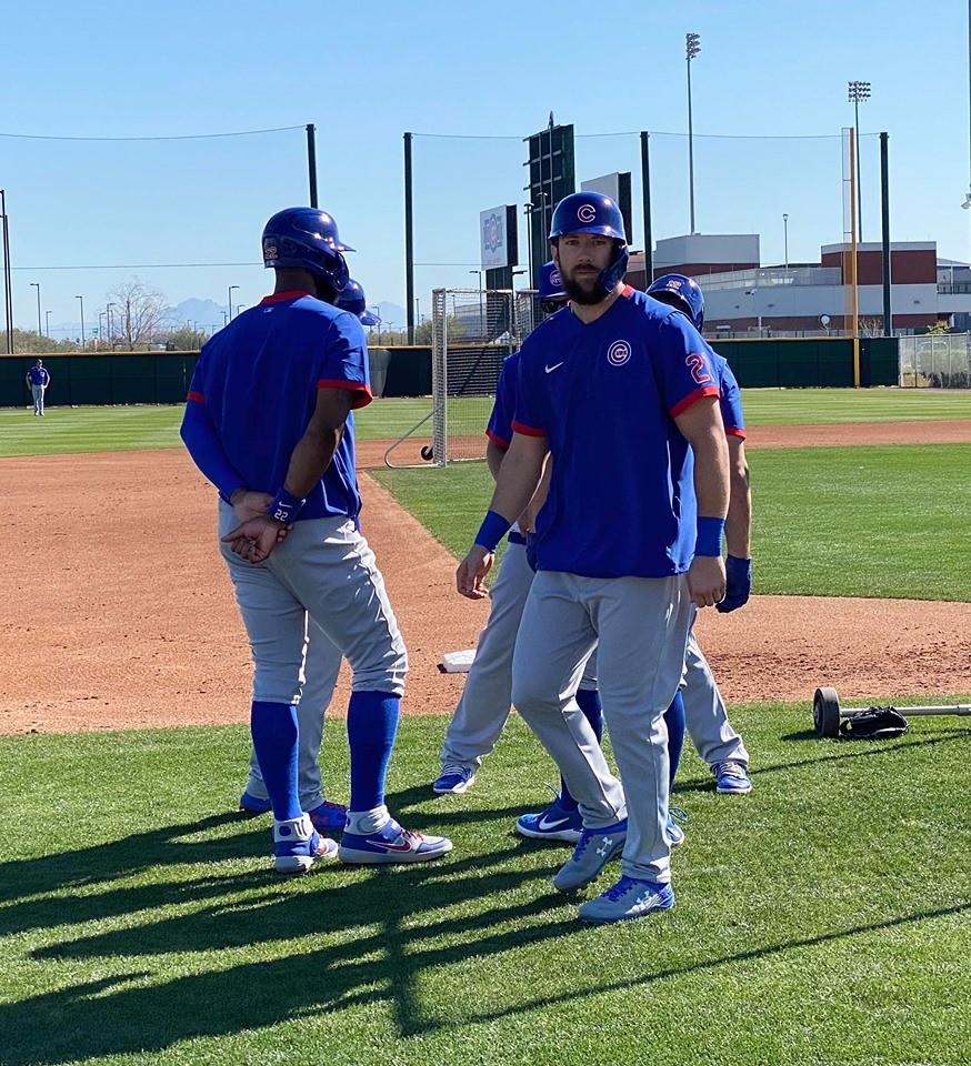 Cubs Photos: Baseball, 2020, chicago, cubs, springtraining, Kyle  Schwarber, Jason  Heyward, stevensouza