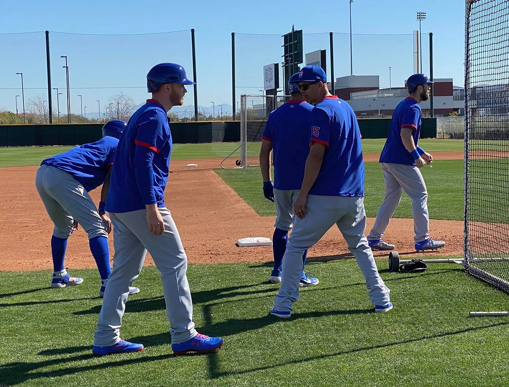 Cubs Photos: Baseball, 2020, chicago, cubs, springtraining, Kyle  Schwarber, Jason  Heyward, stevensouza, Ian  Happ