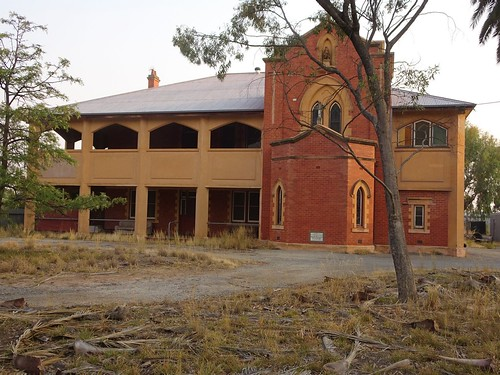 Warracknabeal. The Sisters of Mercy Convent. Foundation stone laid by the Catholic Bishop of Ballarat in 1929.