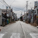 Abandoned street seen at Fukushima exclusion zone