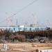 The disabled Fukushima Daiichi Nuclear Power Plant