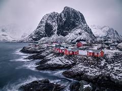 Hamnoy - Lofoten, Norway - Seascape photography