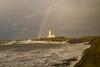 Turnberry Lighthouse & Rainbow
