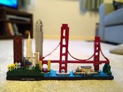 Photo of Lego Architecture San Francisco