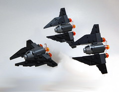 Fang Fighter - Sable Squadron
