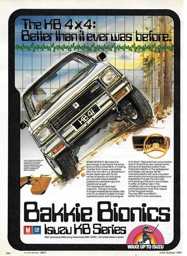 1982 Isuzu KB 41 (South Africa)