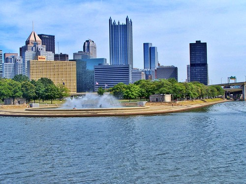 Pittsburgh Pennsylvania  - Point State Park - Historic District - Fort Pitt - Fort Duquesne