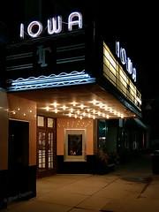 Saturday night at the Iowa Theatre, Bloomfield