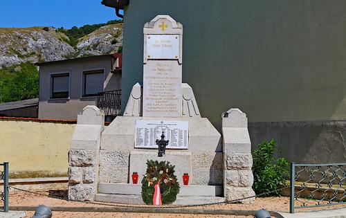 Hundsheim. Kriegerdenkmal, 1920