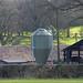 Grain Hopper at at a farm near the Maypole
