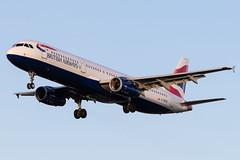 Photo of London Heathrow Airport: British Airways (BA / BAW) |  Airbus A321-231 A321 | G-MEDN | MSN 3512