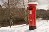 Postbox, Kincraig, Scotland