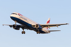 Photo of London Heathrow Airport: British Airways (BA / BAW) |  Airbus A321-231 A321 | G-EUXD | MSN 2320