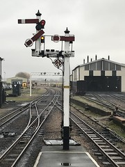 Photo of Starting signals at New Romney