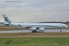 Air X Charter Airbus A340 at London Stansted Airport