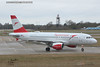 Austrian OE-LDA Airbus A319 London Stansted AIrport