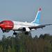 Boeing 737-8JP 'LN-NGE' Norwegian Air Shuttle (UNICEF livery)