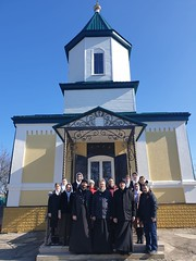 24 февраля 2020, Учащиеся Регентской школы совершили паломничество по храмам Донского благочиния