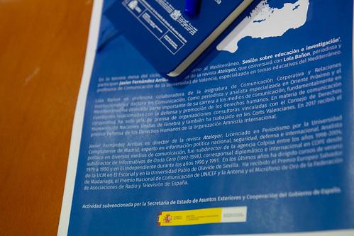 """Debates en torno al Mediterráneo. Mesa 3. Educación e investigación • <a style=""""font-size:0.8em;"""" href=""""http://www.flickr.com/photos/124554574@N06/49578391597/"""" target=""""_blank"""">View on Flickr</a>"""