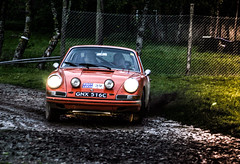 Photo of rally of the test porsche