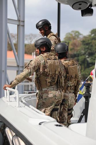 Estados Unidos entrega a Panamá 3 botes Boston Whaler