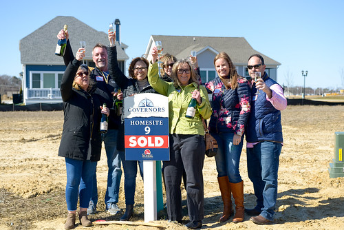 Governors Sold Sign Event