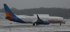 Photo of Boeing 737: 34702 G-DRTC 737-808(WL) Jet2 Newcastle Airport