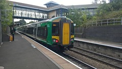Photo of LMR 172211 departing from Galton Bridge Station on 20th-Sept-2017