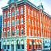 Racine Wisconsin - AKA - Main Place  - Nelson Hotel - Heritage Bank as Shown - Now Divino Gelato - Historic  McClurg Building