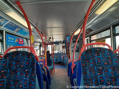 Photo of Bus Interior #43: National Express Coventry BJ03EVC 4453