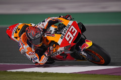 Qatar Test 2020. Day 3. Marc Márquez
