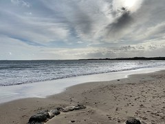Photo of Alnmouth beach Northumberland North East England.